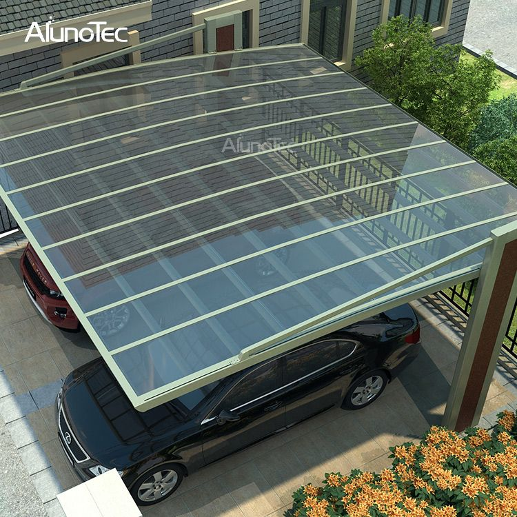 Best Selling Polycarbonate Sheet Solar Carport Prices For Car