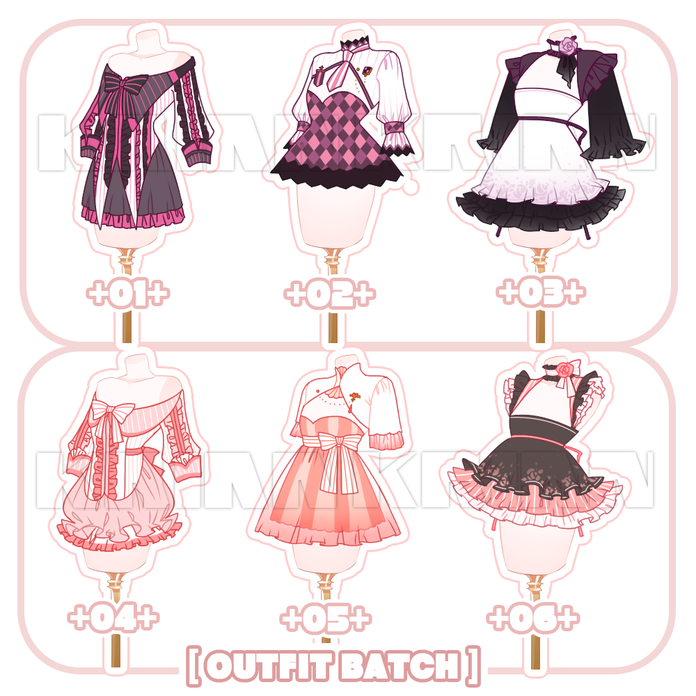 Set Price Close Outfit Batch By Krianart On Deviantart Fashion Design Drawings Art Clothes Fantasy Clothing
