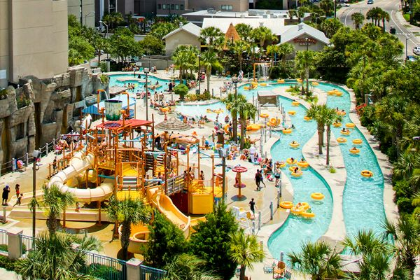 garden city beach hotels. Sands Waterpark | Myrtle Beach Resorts Garden City Hotels T