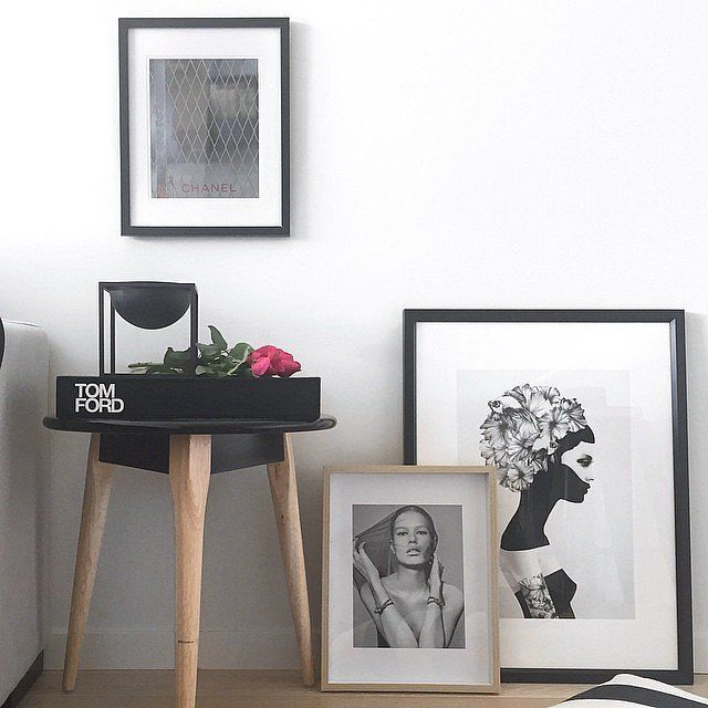 Framed fashion prints are a must in your home!