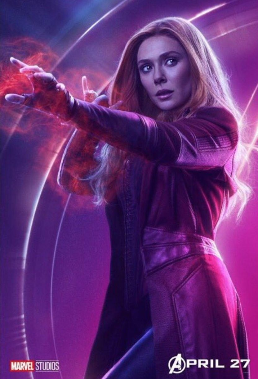 Avengers Infinity War Scarlett Witch (With images