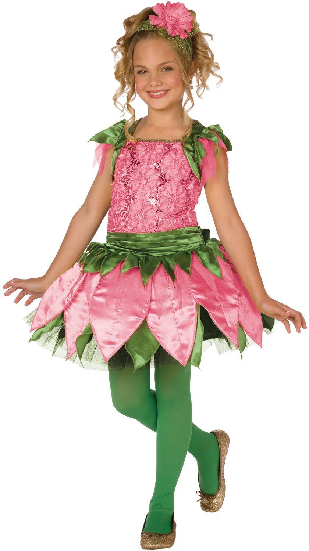 Flower Girl Costume Rose Flower Costume Halloween Ideas