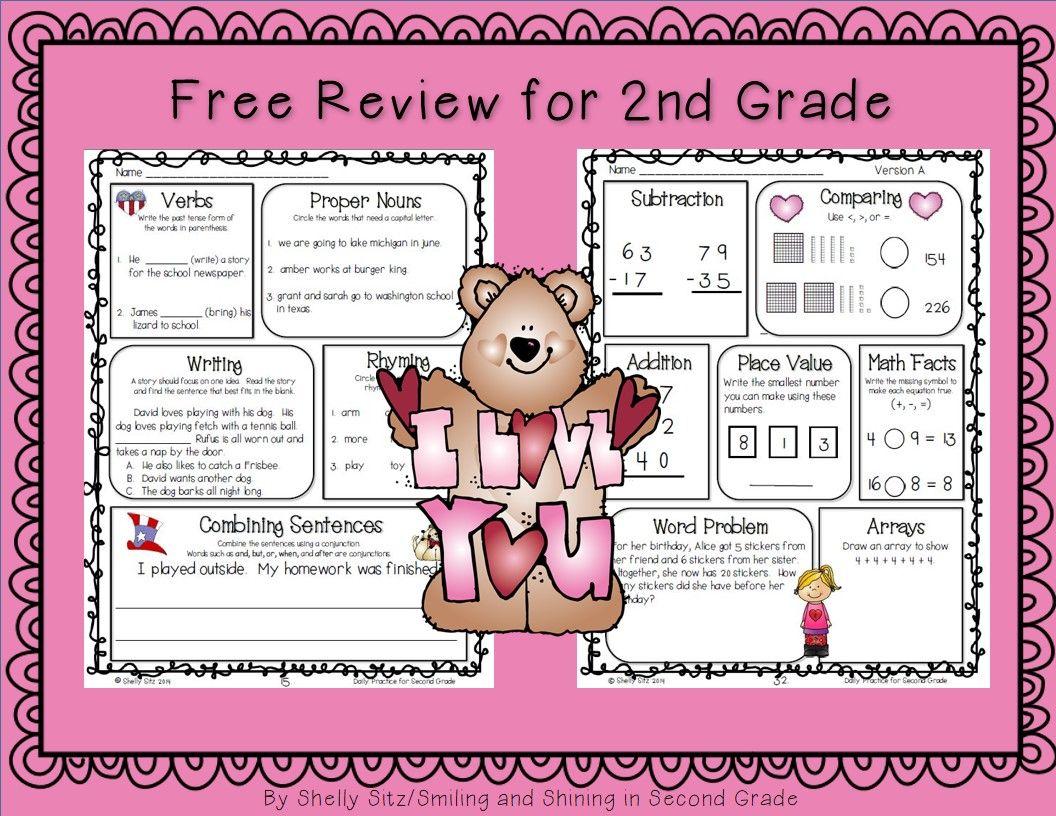 medium resolution of February Morning Work for Second Grade   2nd grade math