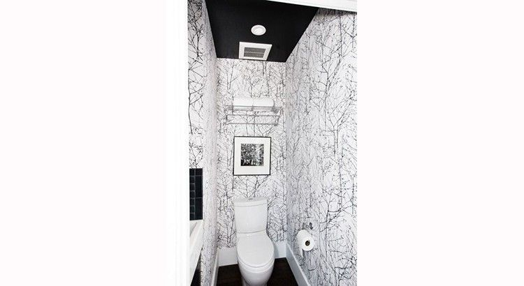 toilettes 25 id es pour les d corer d co wc petits coins d co wc pinterest. Black Bedroom Furniture Sets. Home Design Ideas