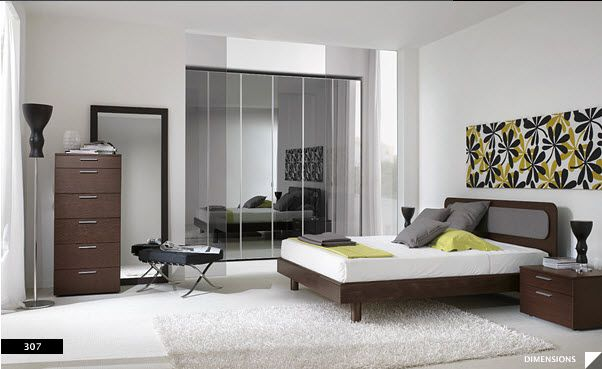 17 Strikingly Beautiful Modern Style Bedrooms | For the Home ...