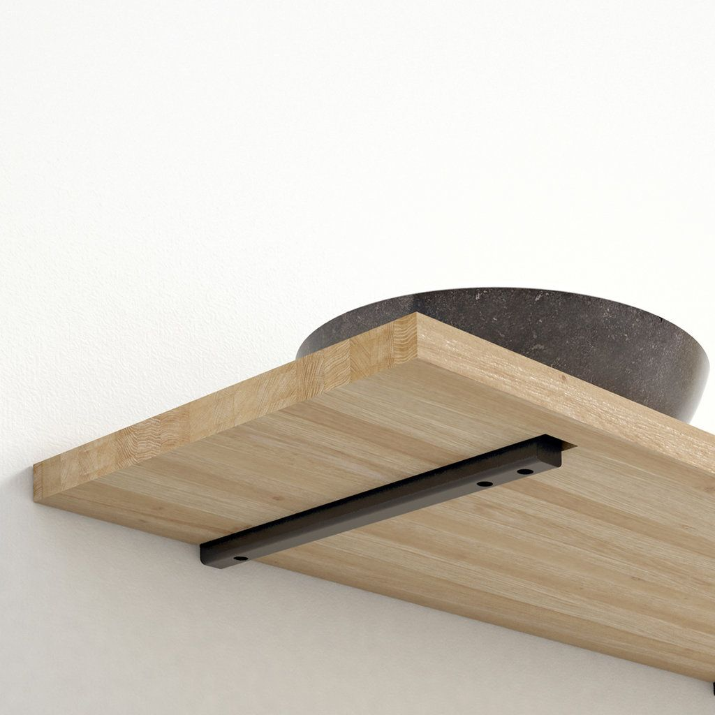 Blinde Bevestiging Plank.Wandplank Massief Zwevend Blinde Bevestiging Wow