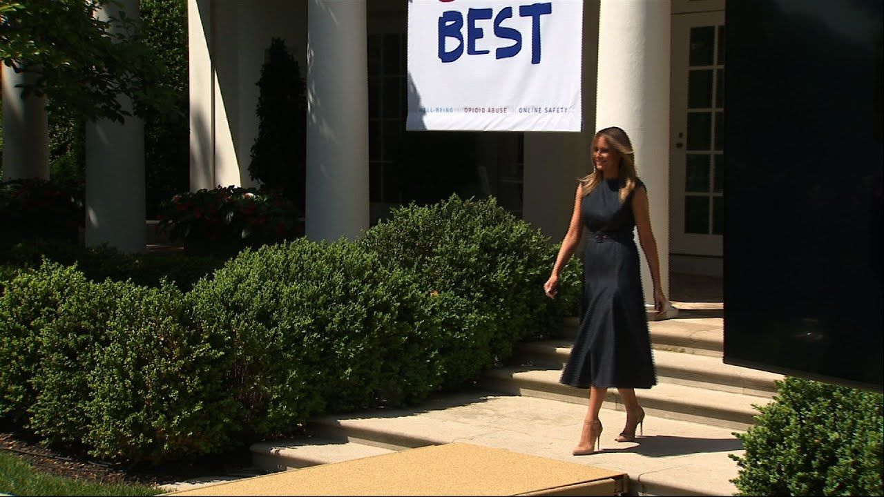 After one year, Melania Trump expands 'Be Best' in 2020