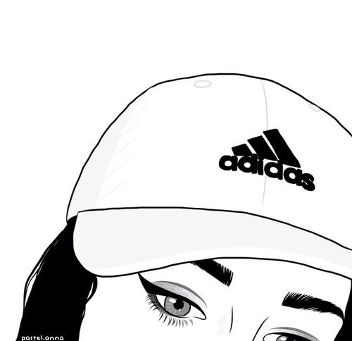 adidas. | girl, art and grunge