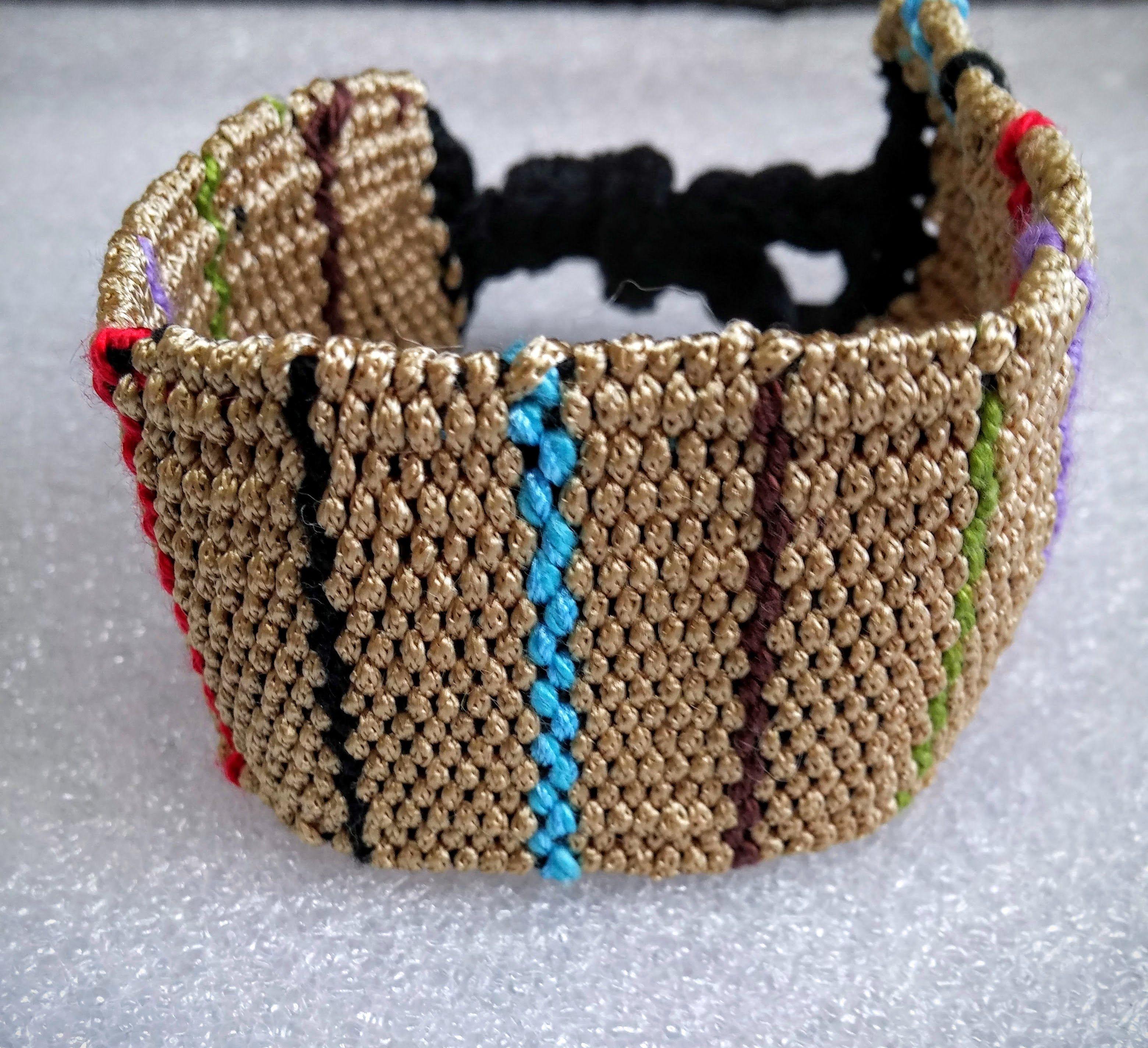 handwoven bracelet www.facebook.com/...