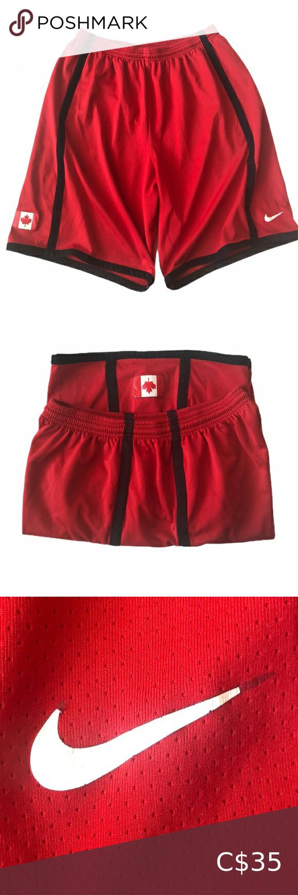 Nike Team Canada basketball shorts in 2020 Basketball