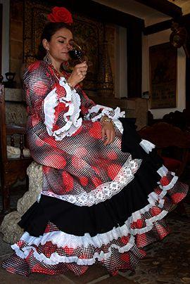 Traje de flamenca Modelo Argüeso