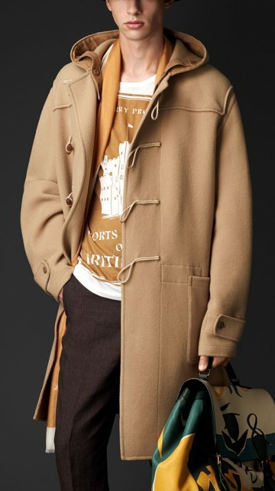 Double Cashmere Wool Duffle Coat | Burberry