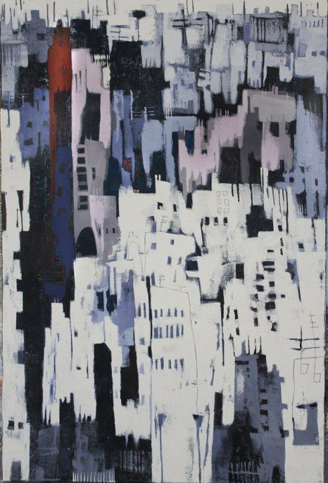 Abstrakte Malerei - wohnzimmer bilder abstrakt