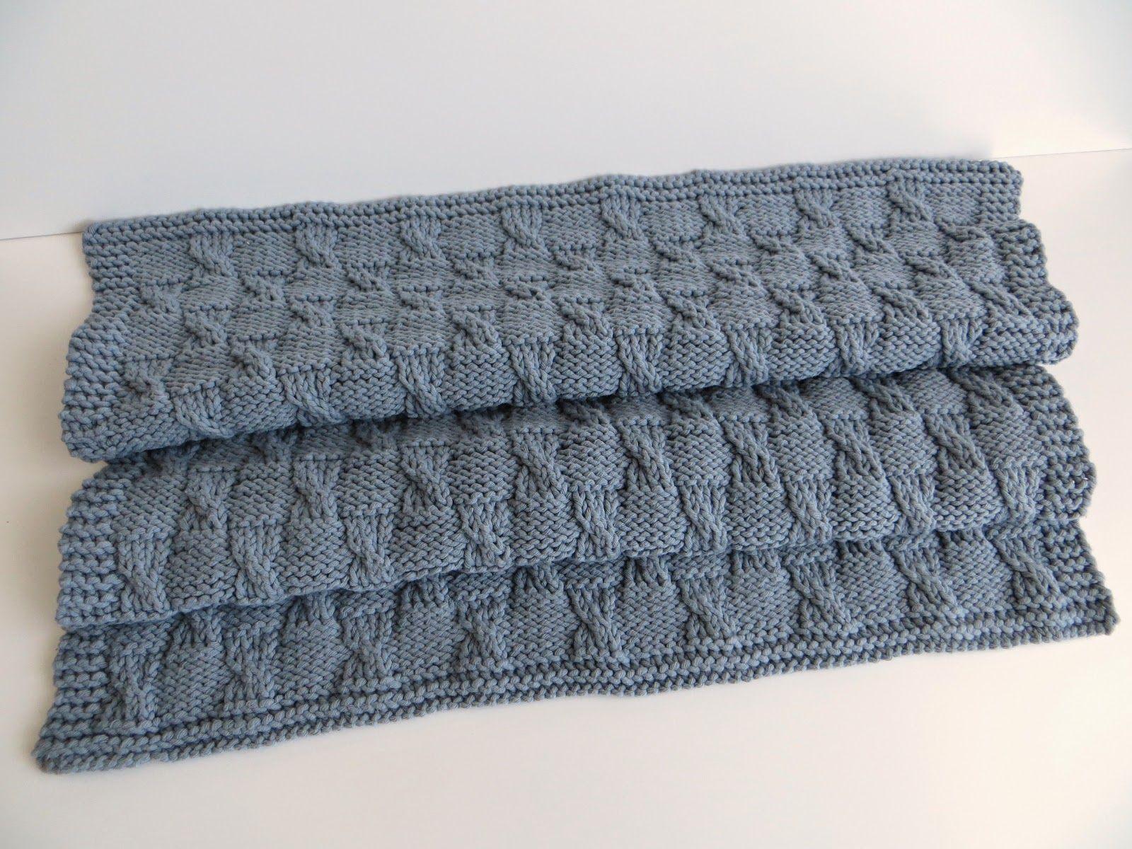 Tricot couverture pour bébé (tuto inside)   Tricot   Tricot ... d97e0f0264e