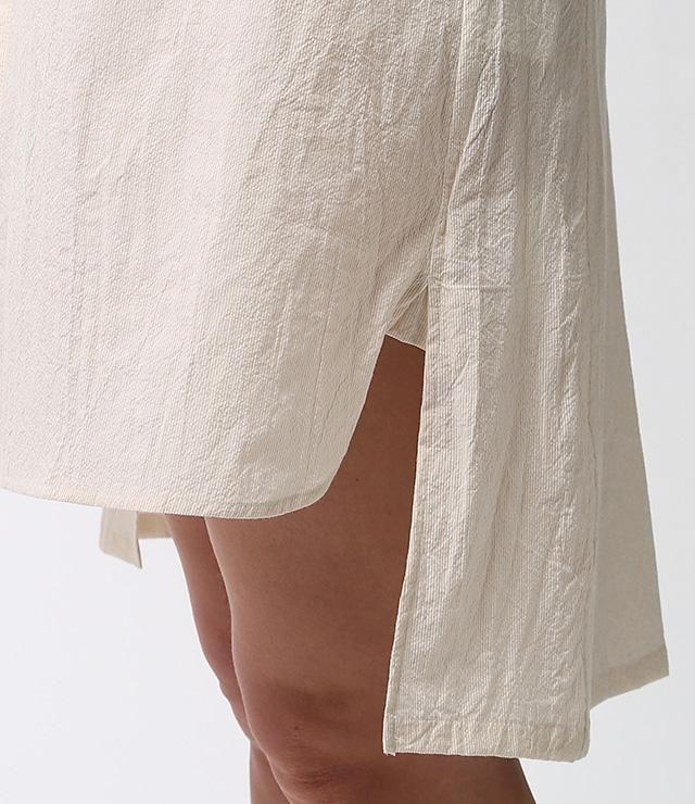 Aライン ポケットチュニック   シャツ/ブラウス   ウィメンズ   Ouur onlinestore   「ありのままの美しいくらし」を提案するOuur公式通販