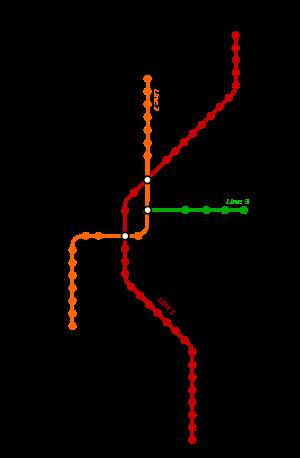 Rings Subway Map.Cairo Metro Map Metro Maps Cairo Map Diagram
