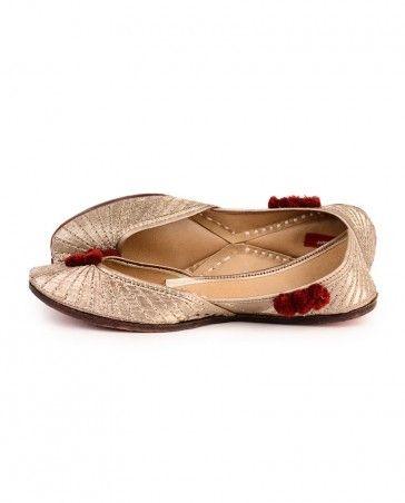 cc40f0ff7d1 Mumtaz Mahal Jutties - Jutties By Finesse - Designers   Foot wears ...