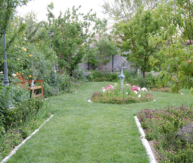 18 Edible Garden Designs Ideas: This Is My Garden In May. All Of The Trees Are Fruit Trees