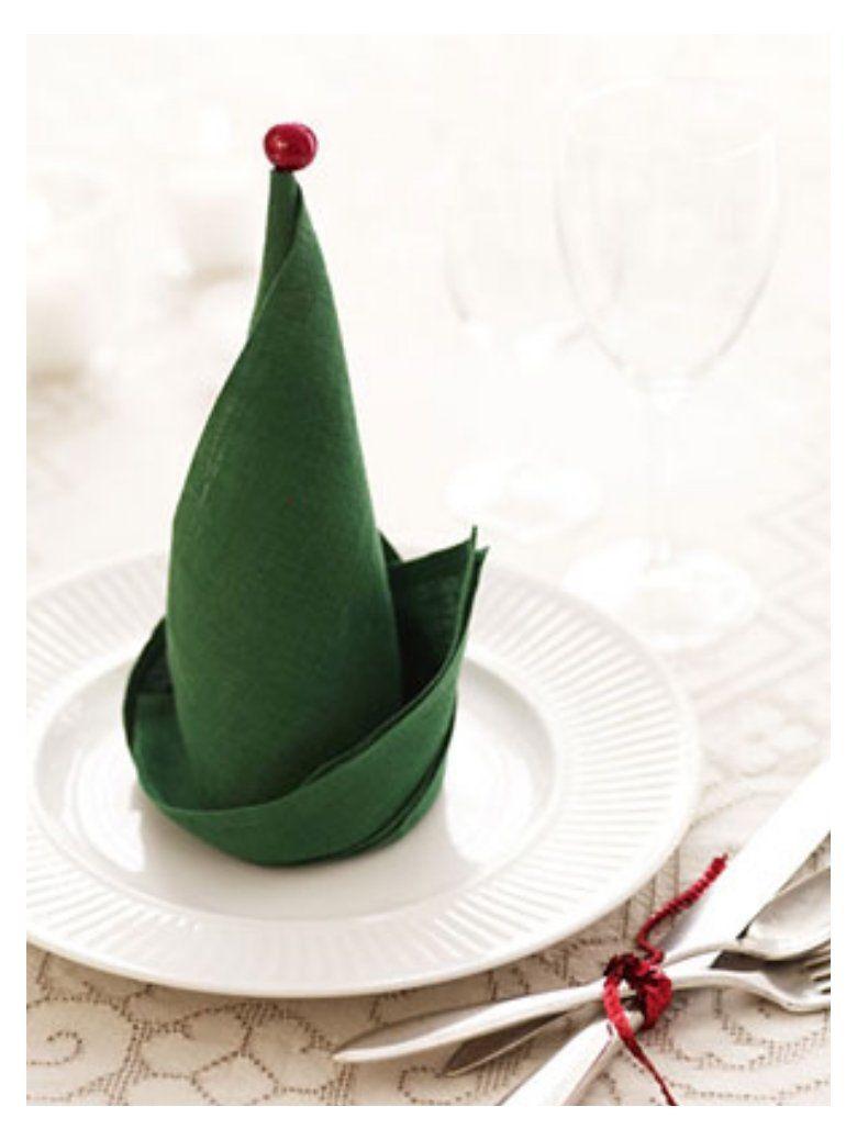 Top 10 Christmas Napkin Folding Tutorials #napkins