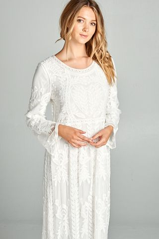 20 Stunning Temple Dresses Any LDS Woman Would Love to Wear | Templo ...
