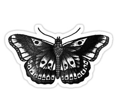 Harry Styles Butterfly Tattoo Stickers By Uzbuz Redbubble On The Harry Styles Butterfly Harry Styles Tattoos Butterfly Tattoo