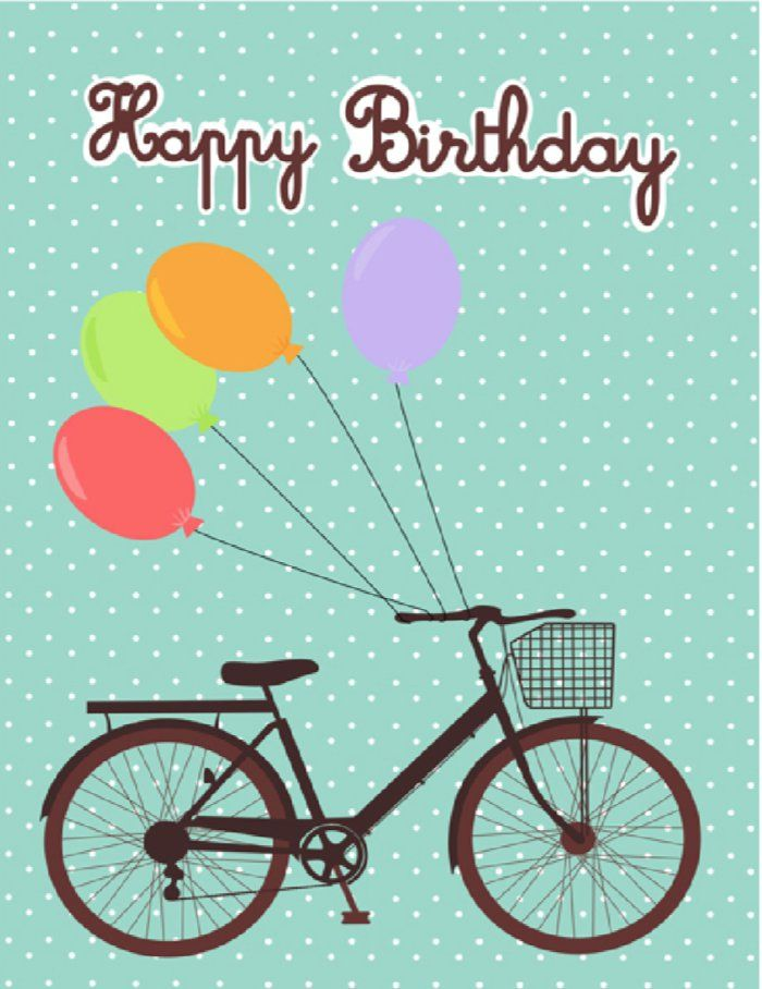 birthday bicycle smart living tips tricks free printable cards bicycle cards birthday. Black Bedroom Furniture Sets. Home Design Ideas