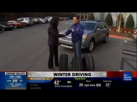 Do you need all-season or winter tires? TV car expert Lauren Fix appears on The Weather Channel with tips on snow tires and winter driving.