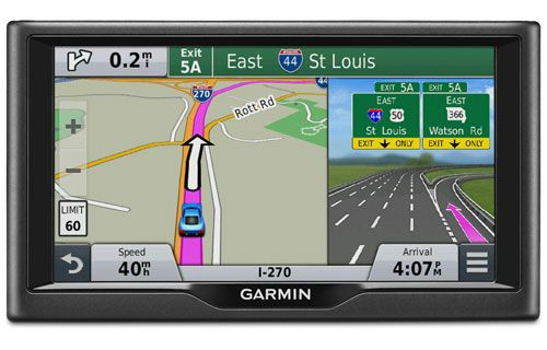 The Garmin nuvi 67LMT is a portable navigator with 6