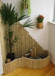 Resultado de imagen para manualidades con bambu para el - Jardineras con bambu ...