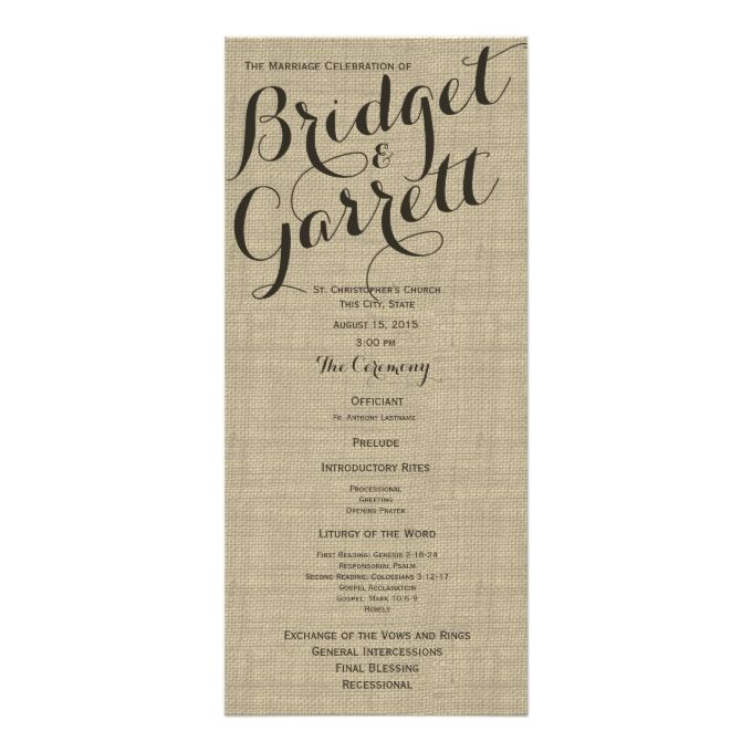 designer text wedding program wedding programs programming and