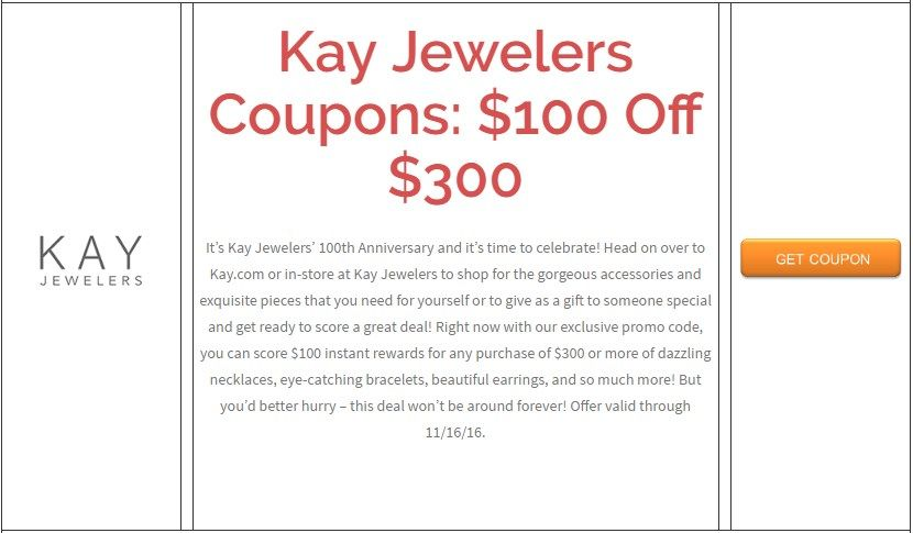 Kay Jewelers Coupons 100 Off 300 Brought To You By Http Www Imin Com And Http Www Imin Com Store Coupons Kay Jew Kohls Coupons Weekly Coupons Shoes Com