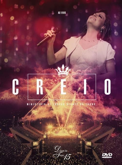 Diante Do Trono 15 Dtoficial Album Creio Lancamento 2012 Selo