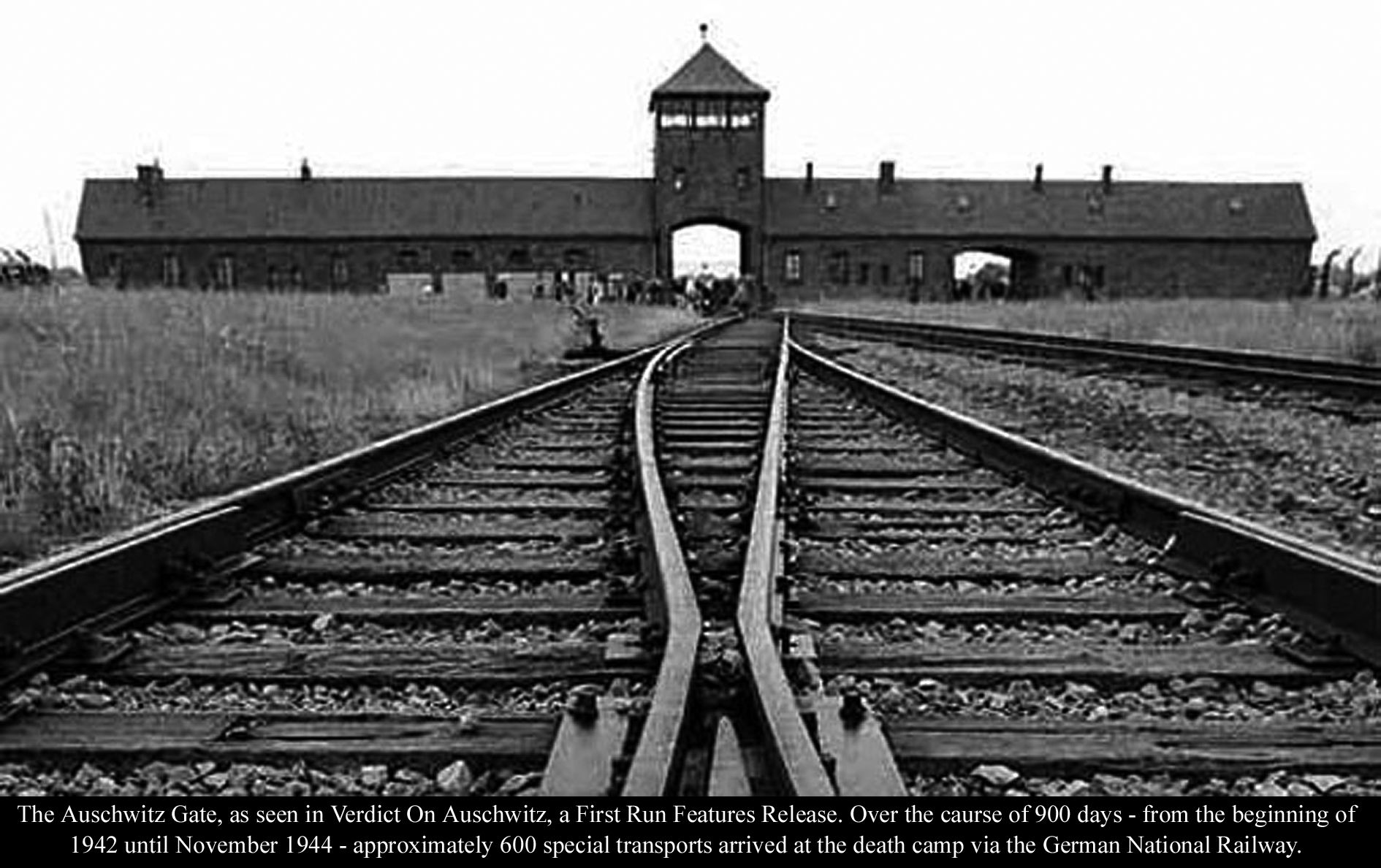 Image result for photo of auschwitz gate