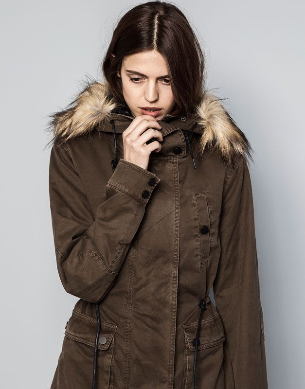 INTERIOR and Style pull bear PARKA DESMONTABLE My Pinterest vaqPAA