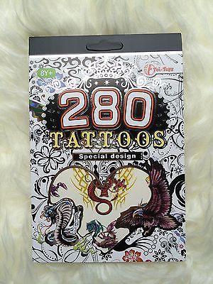 280 Tattoo Aufkleber Sticker Party Geburtstag Tattoo Buch Geschenk
