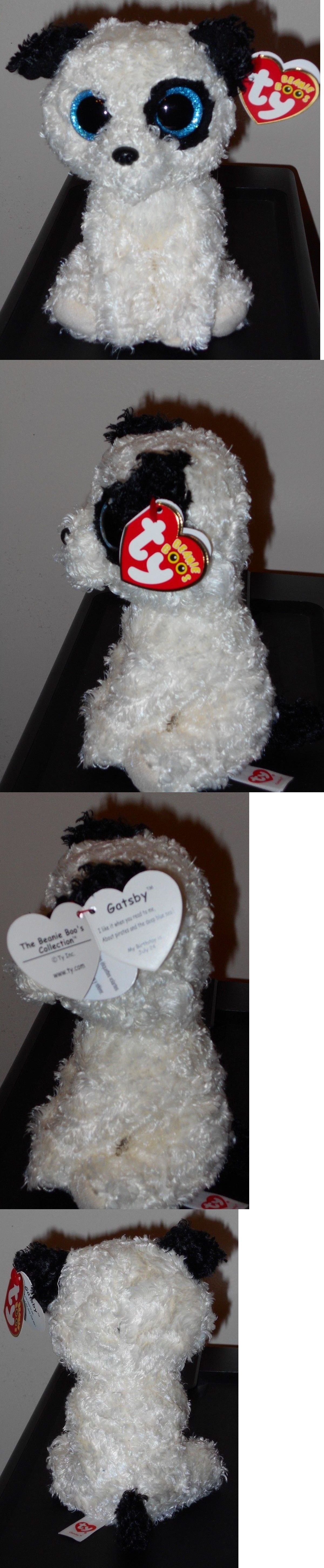 3ec05eeee08 Ty 19203  Ty Beanie Boos - Gatsby The Dog 6 (Barnes And Noble Exclusive)  New Mwmt -  BUY IT NOW ONLY   16.9 on  eBay  beanie  gatsby  noble