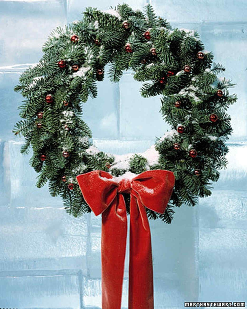 Bell wreath holly berries door wreaths and martha stewart bell wreath holiday decor ideas martha stewart living festive red bells mimic the seasons solutioingenieria Image collections