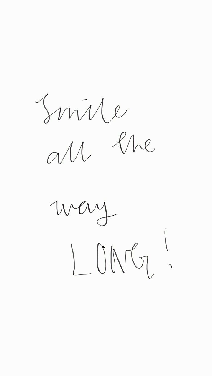 Keep smiling although u would be through hard things .. # ...