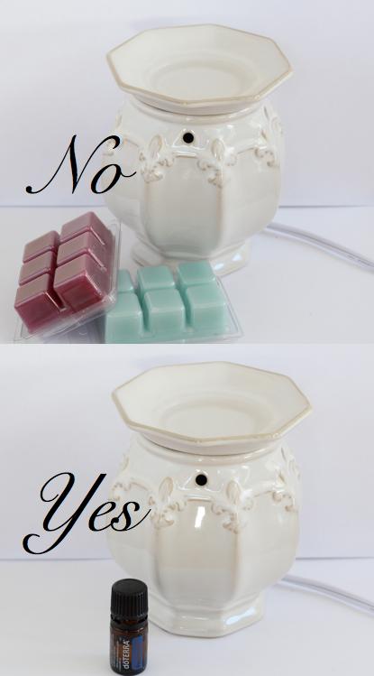 DIY Diffuse Essential Oils Using A Candle Warmer. Breath