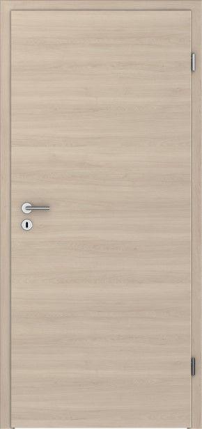 Zimmertür holz  PRÜM Zimmertür CPL Pera-Creme Holz quer Röhrenspanplatten ...