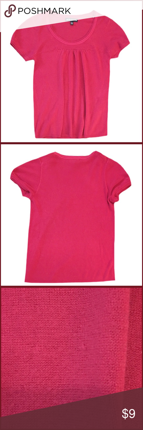 Miss Guided Short Sleeve Sweater | Pink shorts, Short sleeves and ...