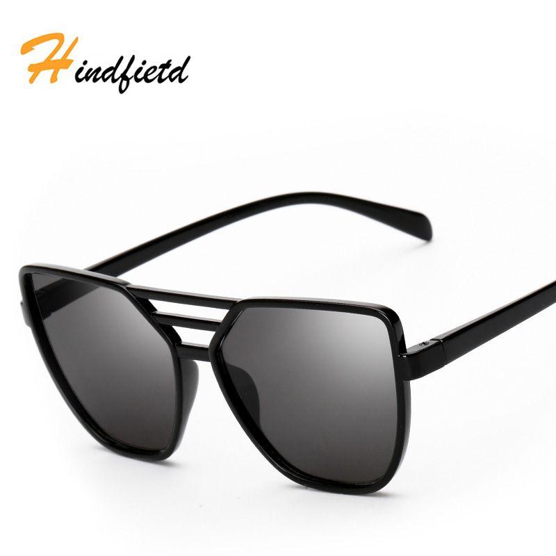 7473358e28 Hindfield Retro Metal Frame Luxury Sunglasses Women Brand Design Vintage Sun  Glasses Woman Men Decoration Classic