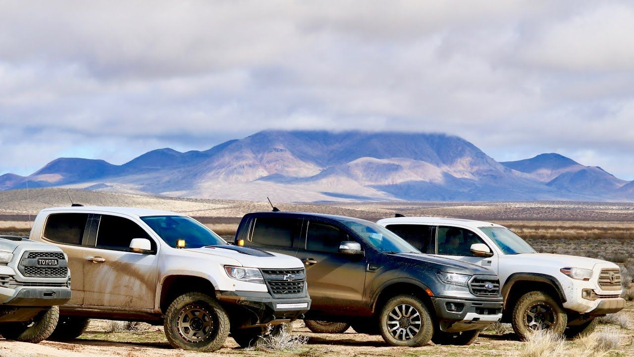 2019 Ford Ranger Offroad Review And Comparison Zr2 Vs Trd Pro Keep