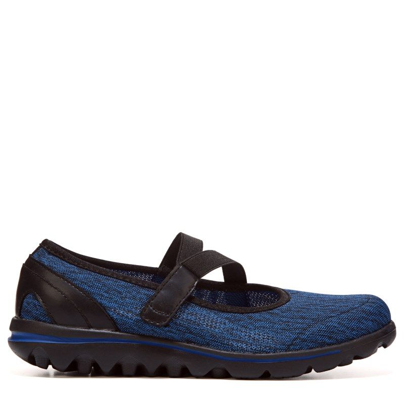 936dba1ccfc8 Propet Women s Travelactiv Narrow Medium Wide Mary Jane Shoes (Black Navy)