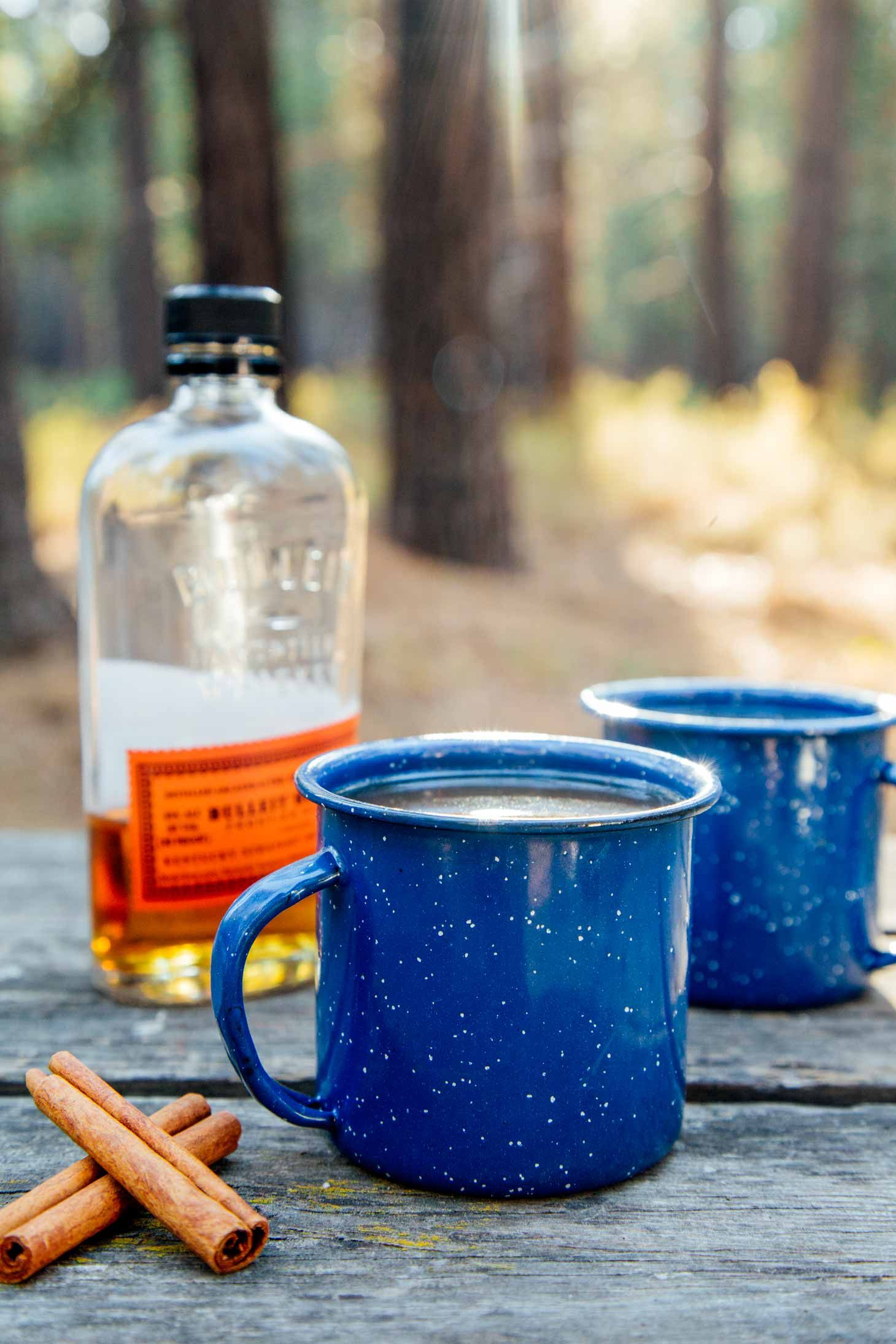 Bourbon Spiked Apple Cider - Fresh Off the Grid