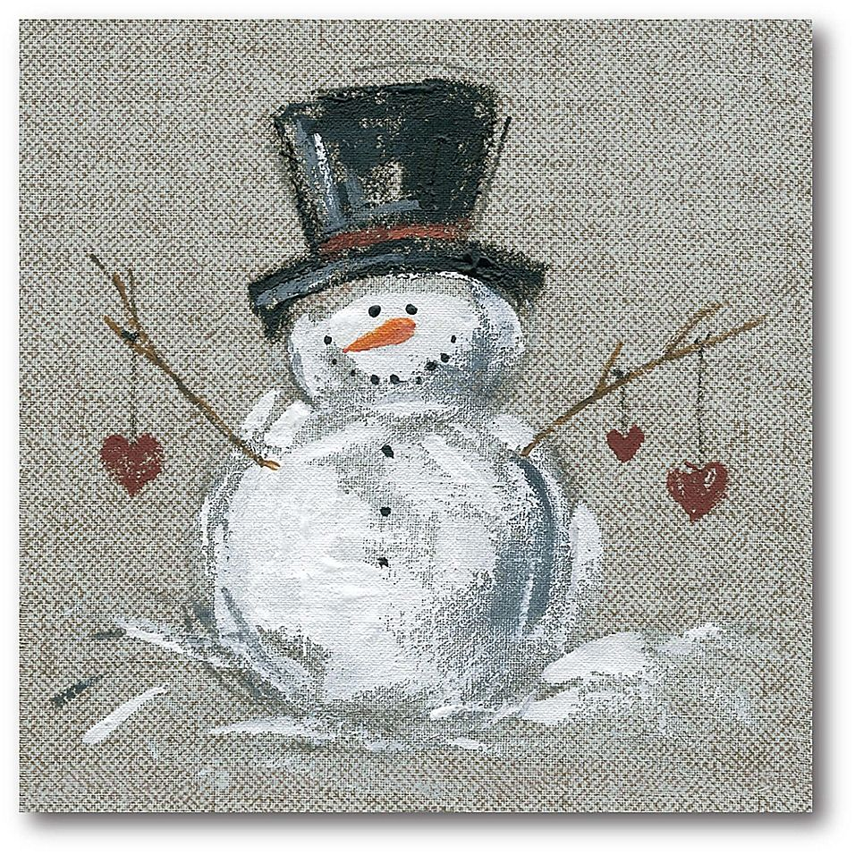 Courtside Market Winter Snowman II 16