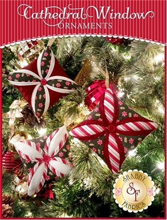 Quilted Christmas Ornaments.Cathedral Window Ornaments Kit Christmas Projects To Make