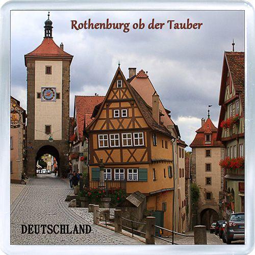 Acrylic+Fridge+Magnet%3A+Germany.+Rothenburg+City+View