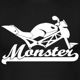 New Monster Silhouette | Albis Motiv-Laden