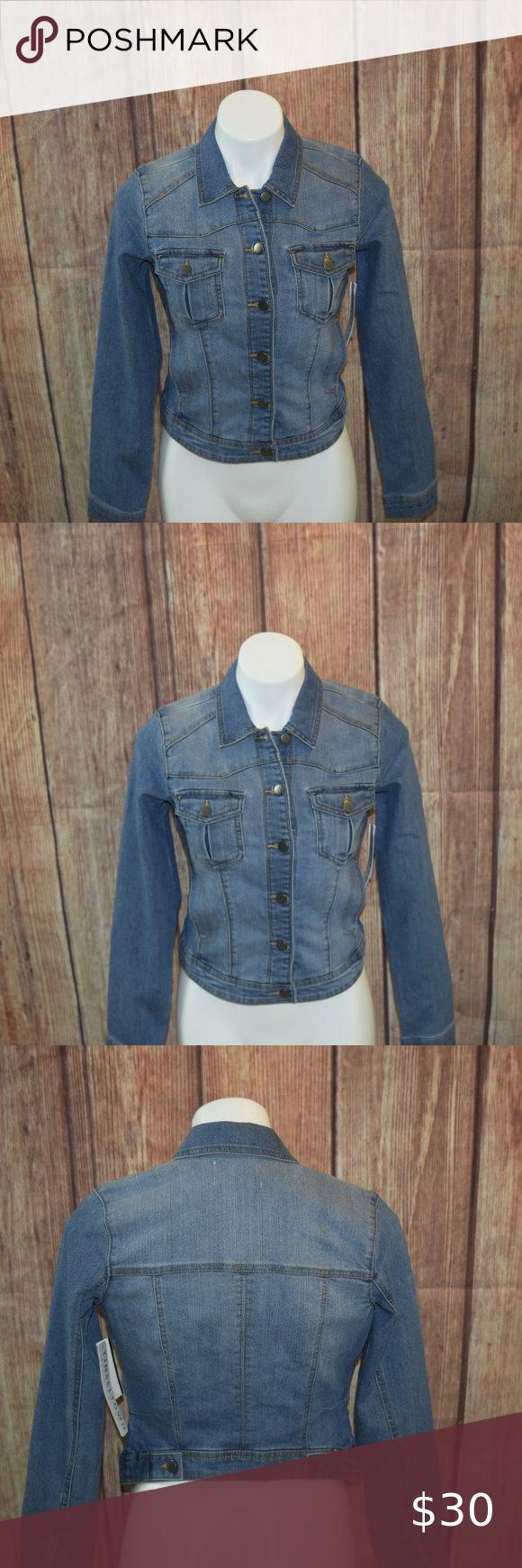 Tinsel Town Denim Jean Jacket Women S Jean Jacket Women Jackets For Women Jean Jacket [ 1740 x 580 Pixel ]